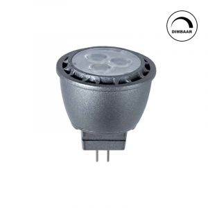 GU4 LED lamp Davi, 3,1w, warm wit, dimbaar