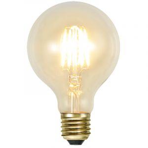 George E27 Grote bollamp, G80, 2w extra sfeervol wit, dimbaar