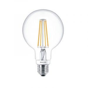 Philips LED filament Globe 7-60W E27 827 G93 helder, Dimbaar