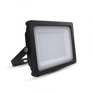 LED schijnwerper DUNCO, zwart - 3000K 100w