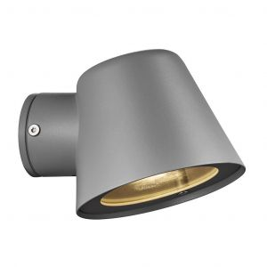 Grijze buiten wandlamp Coralyn - modern design