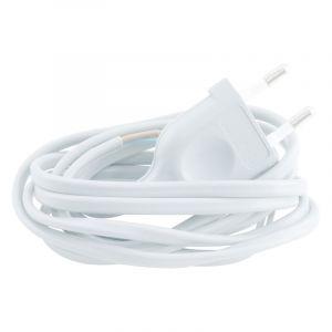 Q-Link aansluitsnoer max 1200w 2 x 0.75 mm. 1.8 m wit