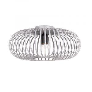 Grijze plafondlamp Aviva, metaal