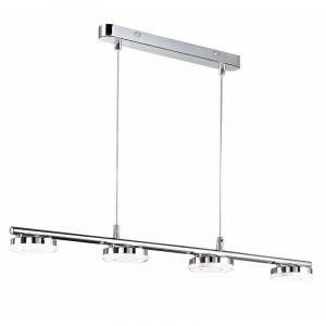 Moderne Hanglamp Vayenne - Chroom, Wit