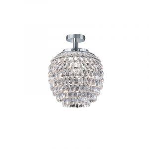 Klassieke, bolvormige plafondlamp Ronda