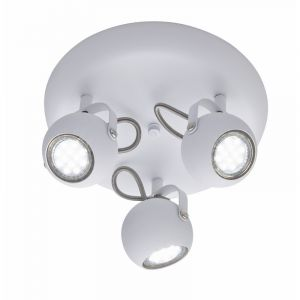 Moderne plafondlamp Krusa, Wit