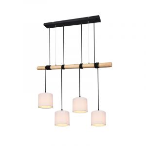 Moderne hanglamp Geertje, zwart
