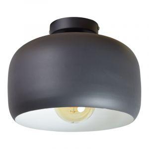 Plafondlamp Redking, Vintage zwart