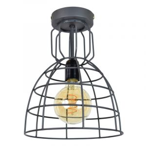 Industriële plafondlamp Dexter, grote versie