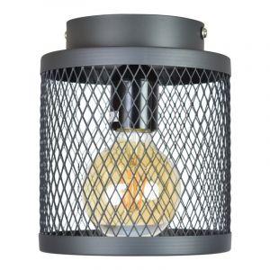 Vintage zwarte gaas plafondlamp Dagior