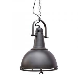 Mat zwarte hanglamp Medoch