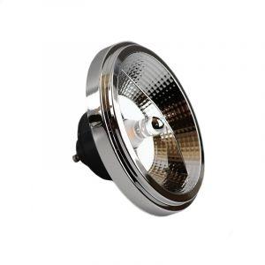 GU10 LED lamp, AR111, 12 Watt, 2700K, Dimbaar, zwarte achterkant