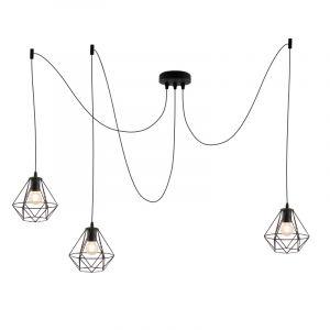 Stoere, industrie 3L spinnenweb 3L spinnenweb hanglamp Jochem, Gaaslook