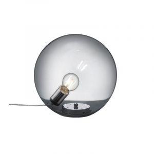 Moderne tafellamp Nibe, Chroom