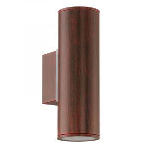 Maryse buitenlamp gegalvaniseerd staal antiek-bruin