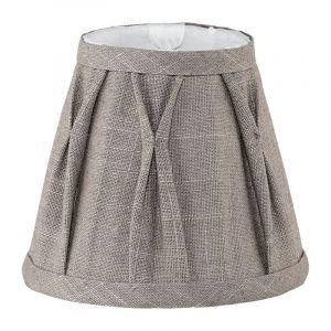 Klassieke lampenkap Noah Textiel/Linnen Grijs