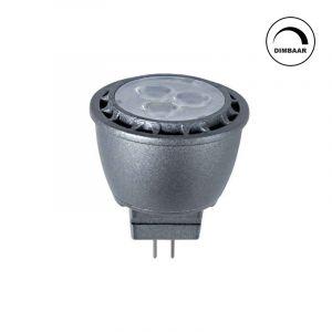 GU4 LED lamp Davi, 3,1w, warm wit, dimbaar