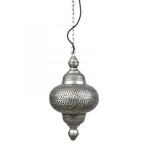 Bohemian hanglamp Philou, Vintage zink