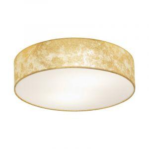 Stalen plafondlamp Megan beige