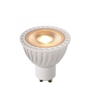 witte GU10 LED lamp, 5 Watt, Dim to warm