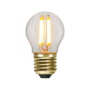 3 staps dimbare E27 kogellamp, 4w extra sfeervol wit
