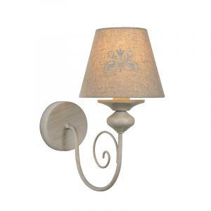 Taupe wandlamp Robin, metaal