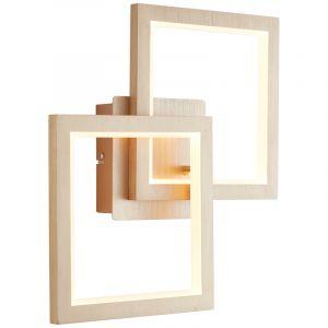Moderne wandlamp Celena, Metaal, 18w warm wit LED
