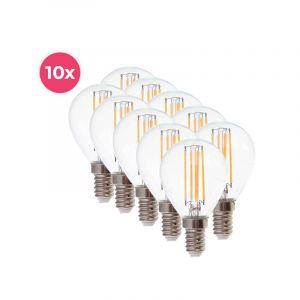 10-pack Dimbare Tekalux Sorna E14 LED lamp, 2700k, 3,5w