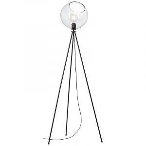 Design driepoot vloerlamp Ramin, Metaal, met Aan/uit schakelaar op het snoer