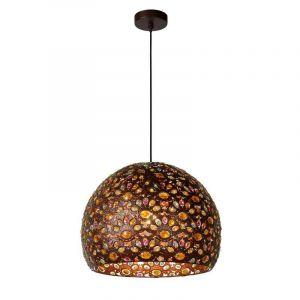 Design hanglamp Byrsa, Roestbruin