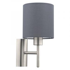 Amal wandlamp - Nikkel-Mat