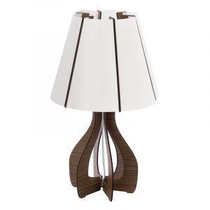 Amela tafellamp - Bruin