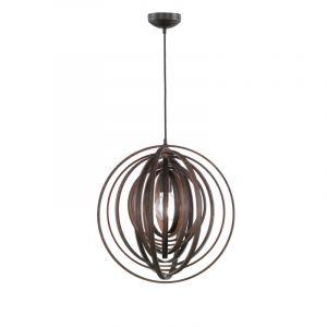 Landelijke, Design, Moderne Hanglamp Xorai - Bruin