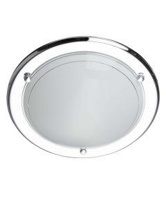 Chroom plafondlamp Emel