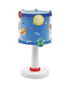 Planeten tafellamp - Blauw