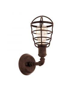 Aissa wandlamp - Antiek-Bruin