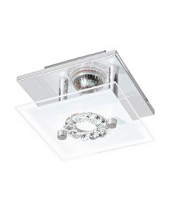 Malik plafondlamp sierlijk kristal small