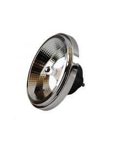 Dimbare GU10 (AR111) LED lamp, 12w warm wit
