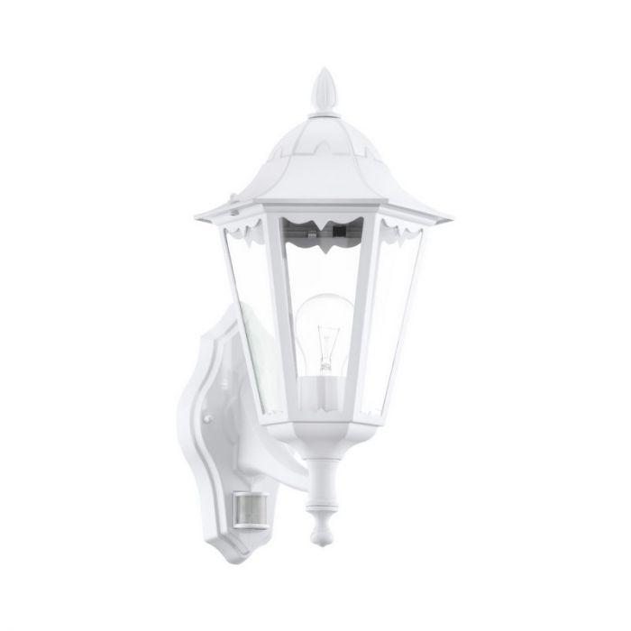 Lacey buitenlamp gegoten aluminium wit