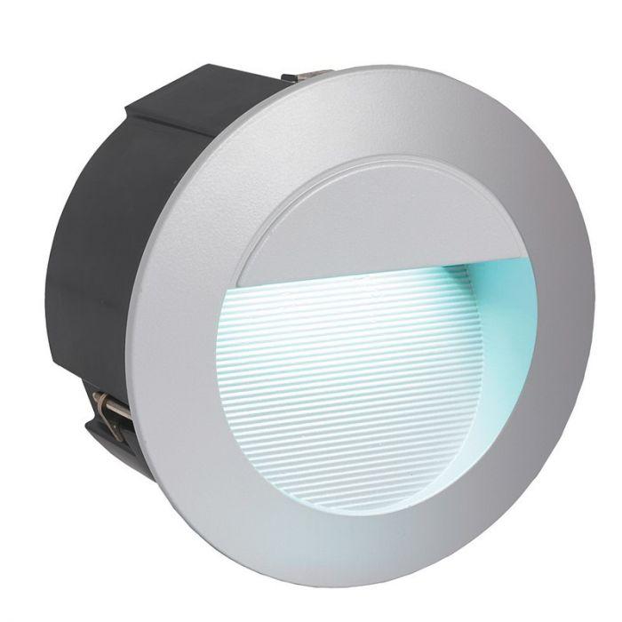 Anke buitenlamp - Zilver