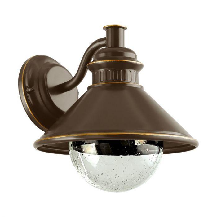 Bircan buitenlamp - Bruin Koper