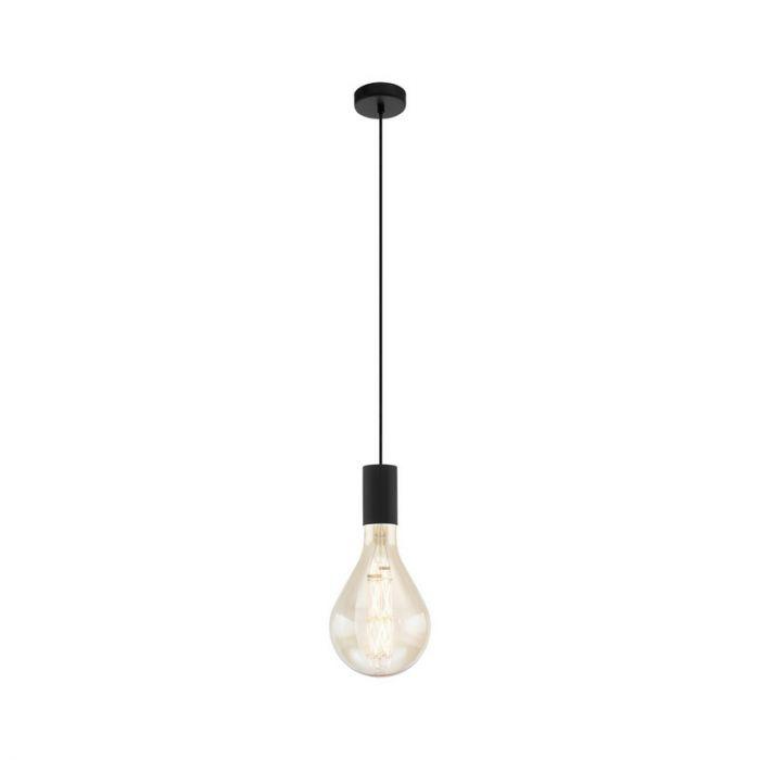 Stalen hanglamp Joy zwart