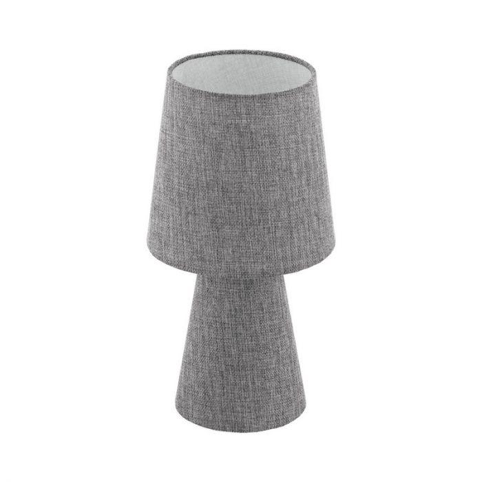 Stoffen tafellamp Mohammed grijs