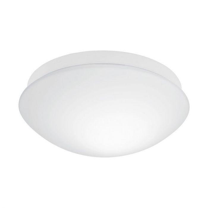 Kunststof plafondlamp Mees wit