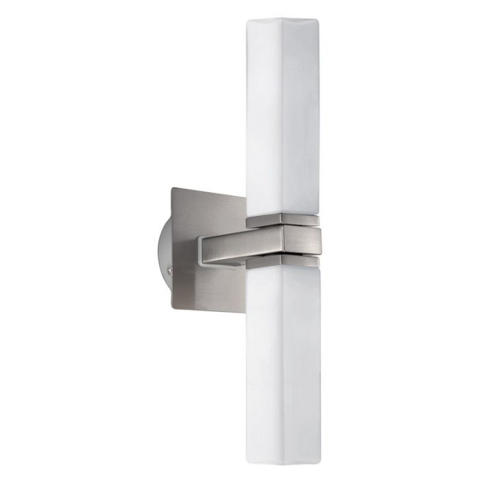 Hoekige glas badkamer wandlamp Cicili