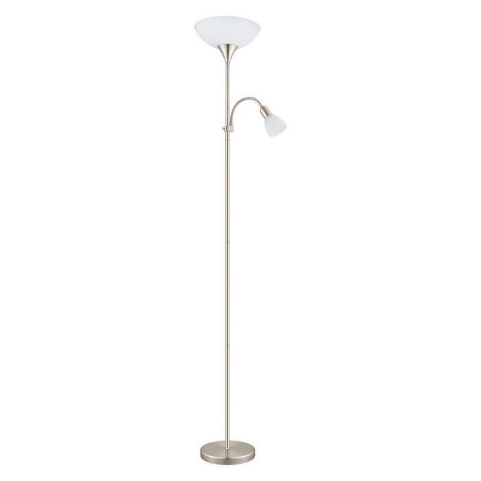 Harm vloerlamp stijlvol design mat nikkel