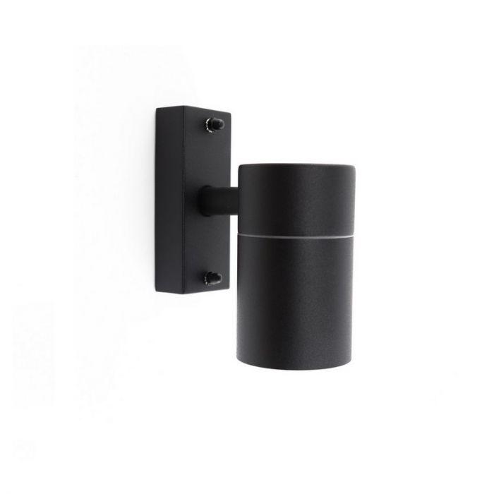 Buiten wandspot Aberi - Zwart