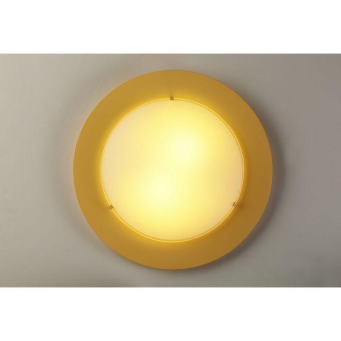 Gele plafondlamp kinderkamer