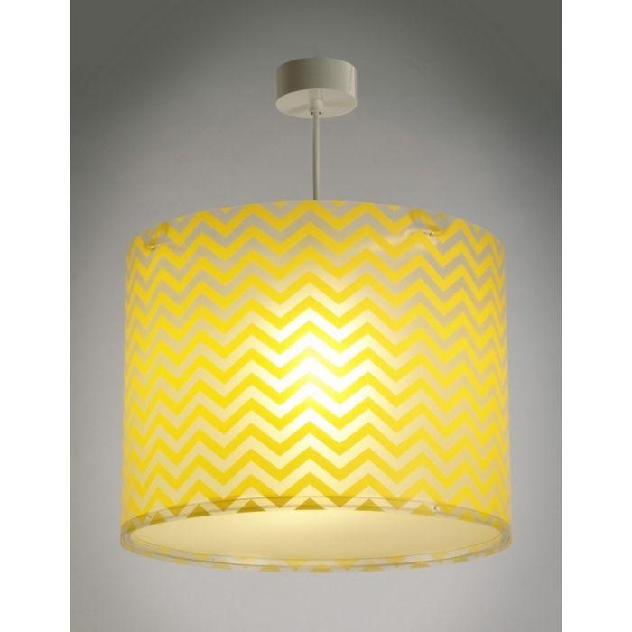 Gele hanglamp kinderkamer