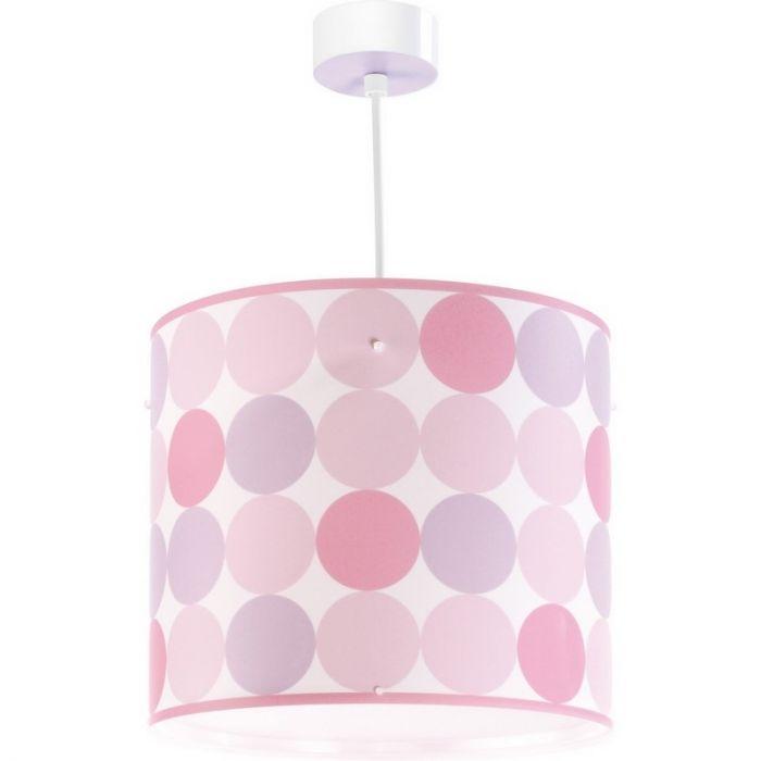 Meisjeskamer hanglamp Rondjes - Roze